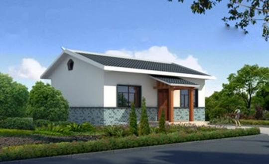 占地11x11一层独栋自建别墅设计全套施工图