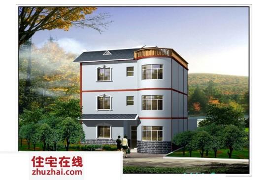占地11x11三层带庭院自建别墅设计全套施工图