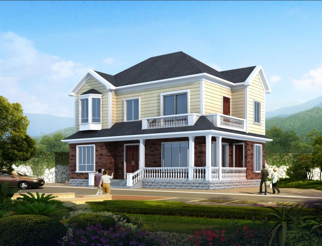 【二层】独栋自建别墅设计全套施工图