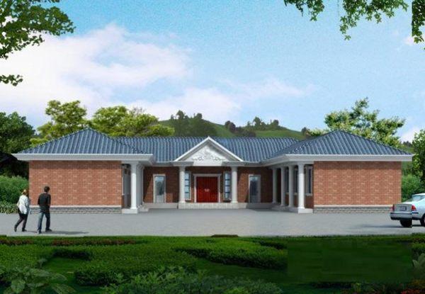 占地26x19一层独栋自建别墅设计全套施工图