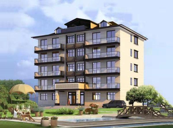 占地22x15五层带电梯豪华自建别墅全套施工图带工程造价