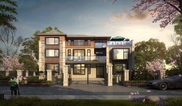 占地19x16三层带露台自建别墅设计全套施工图