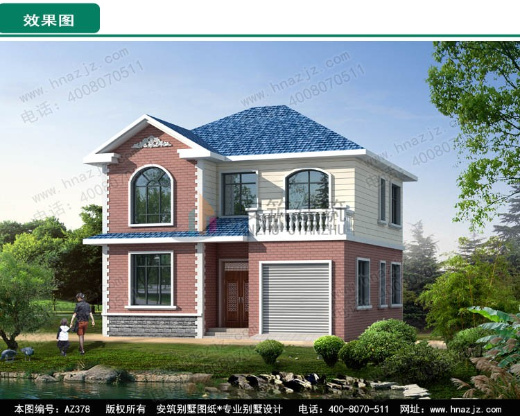 欧式二层别墅设计图效果图