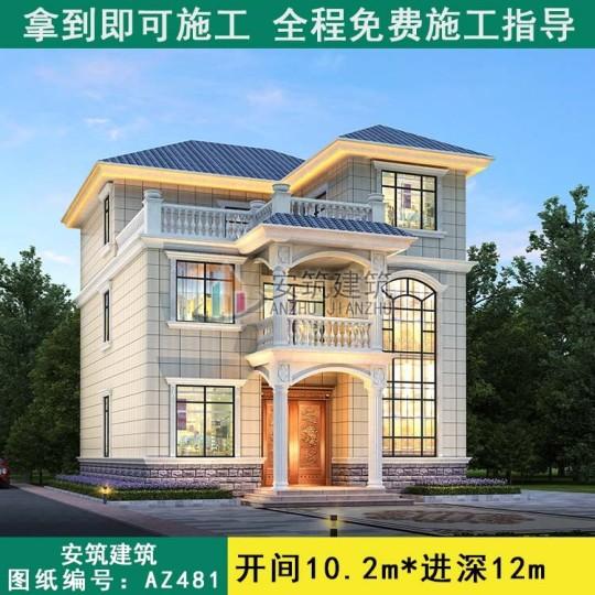 图纸大全之家中最美三层别墅图片夜景房屋