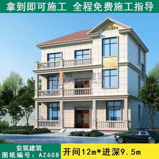 100平左右三层房子怎么建