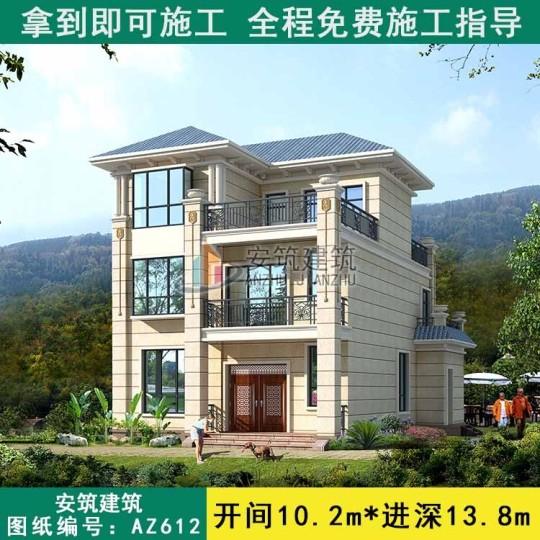 房子长10米宽十一米三怎么设计图案