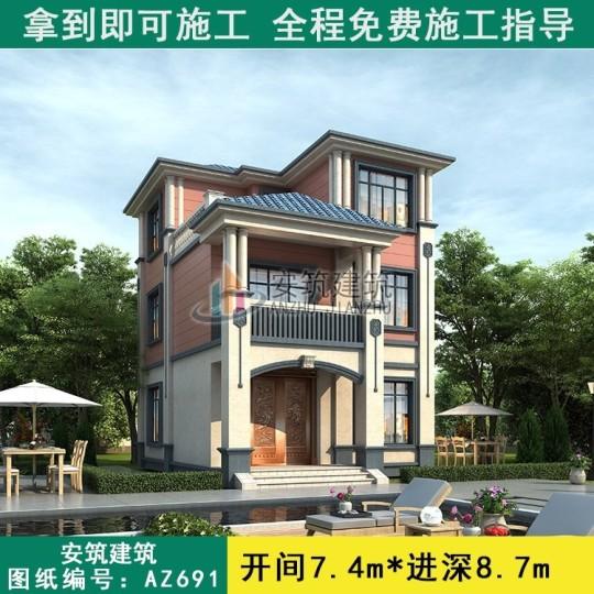 好看又简单的新中式楼房设计图纸
