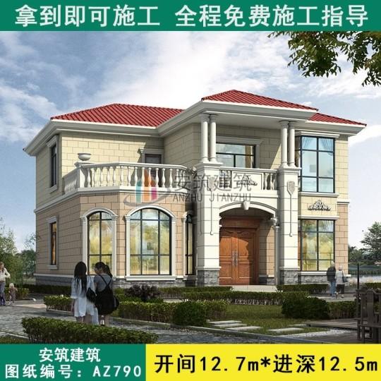 150平方的二層房子設計圖