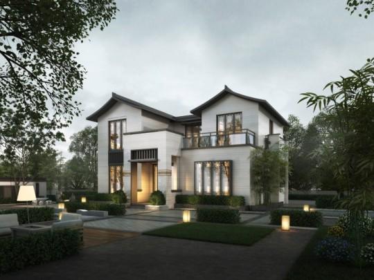 【住宅在线自主设计】如意府 占地120平二层带露台全套施工图