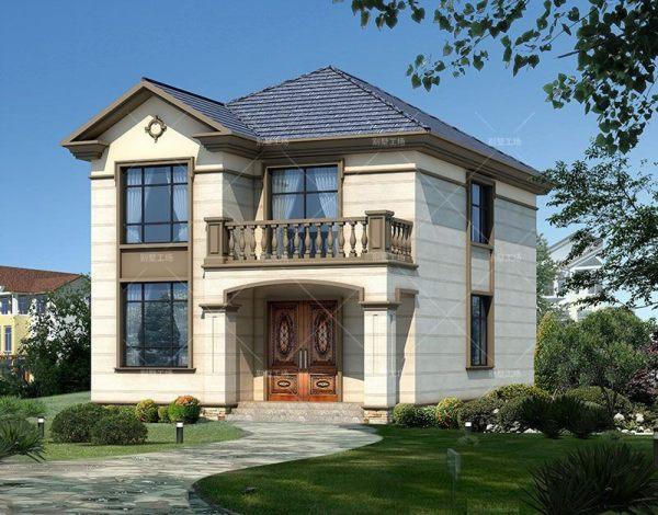 占地9x13二层两开间自建别墅设计全套施工图