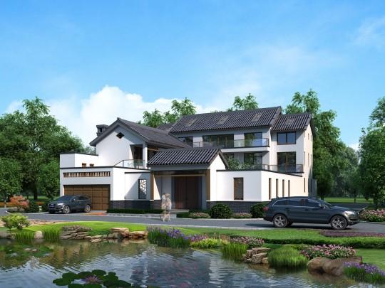 占地22x32三层四合院自建别墅设计全套施工图