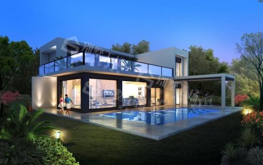 占地16x16二层自建别墅设计全套施工图