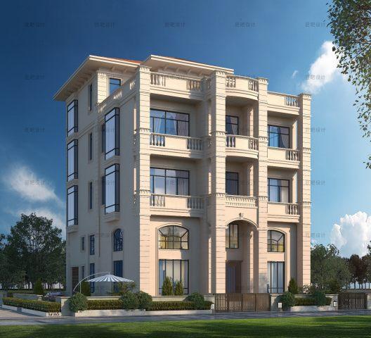 占地12x17三层自建别墅设计全套施工图
