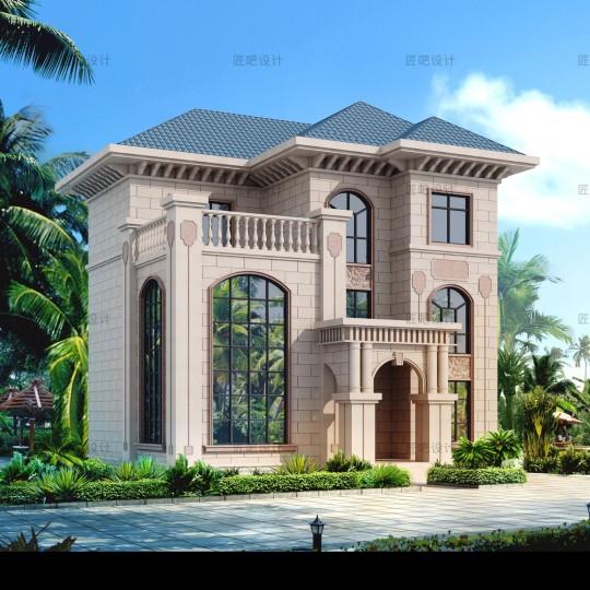 占地11x11三层自建别墅设计全套施工图