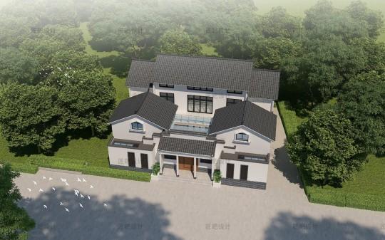 占地20x17二层自建别墅设计全套施工图
