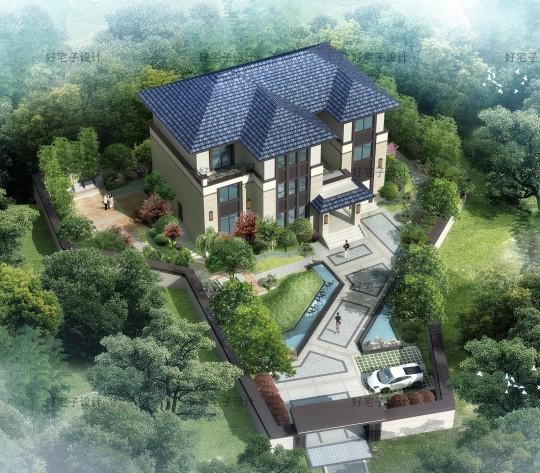 占地18x13三层自建别墅设计全套施工图