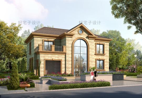 占地15x13二层自建别墅设计全套施工图