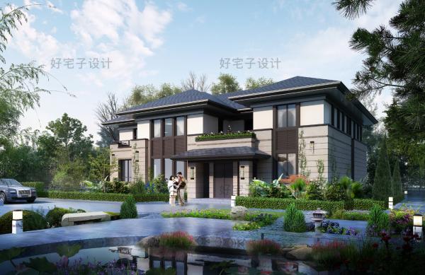 占地16x12二层自建别墅设计全套施工图
