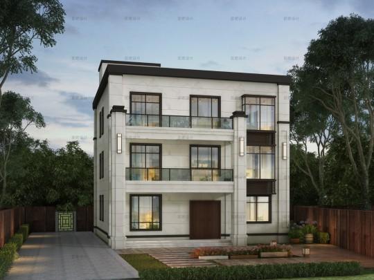 占地12x15三层自建别墅设计全套施工图