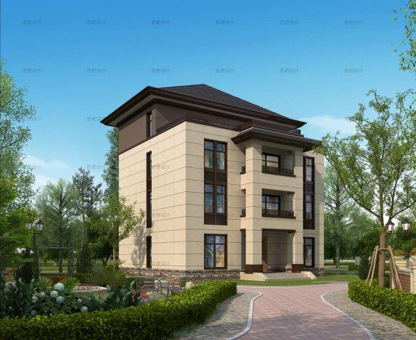 占地13x11四层自建别墅设计全套施工图