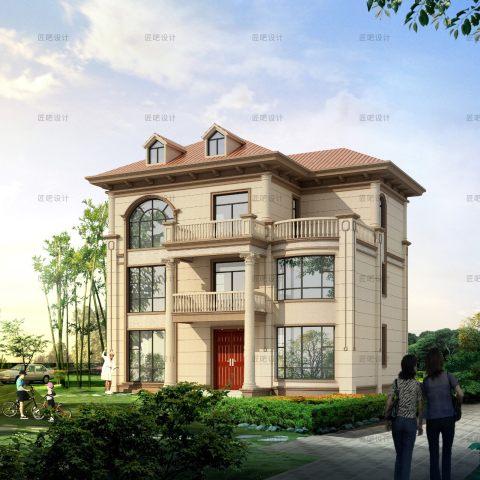占地13x11三层自建别墅设计全套施工图