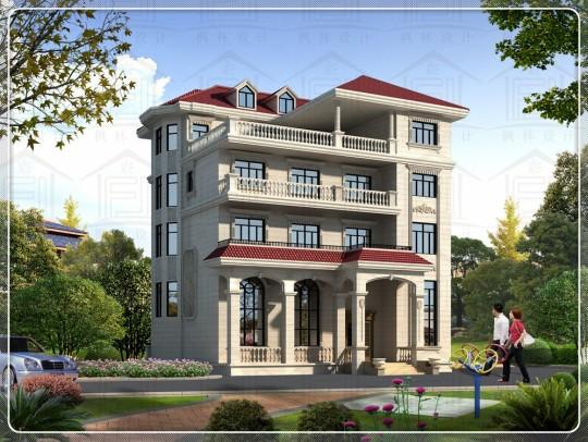 占地15x14四层自建别墅设计全套施工图