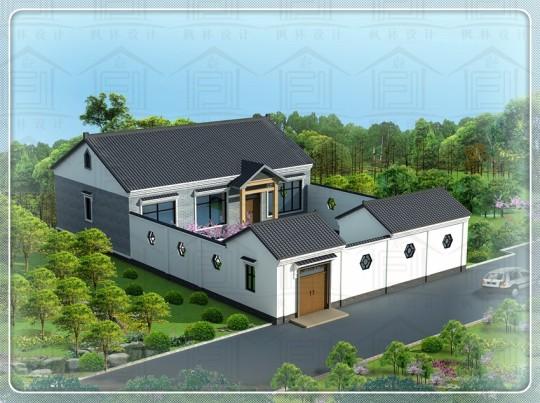 占地14x9一层自建别墅设计全套施工图