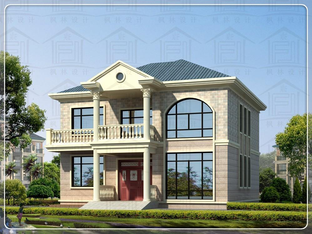 占地12x14二层自建别墅设计全套施工图