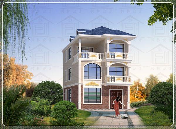 占地7x14三层自建别墅设计全套施工图