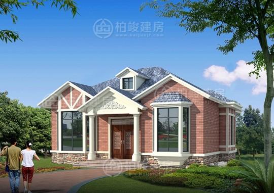 占地13x11一層自建別墅設計全套施工圖