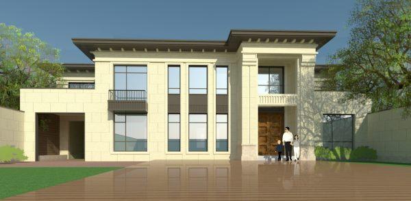 占地21x10二层EPS模块结构别墅全套施工图