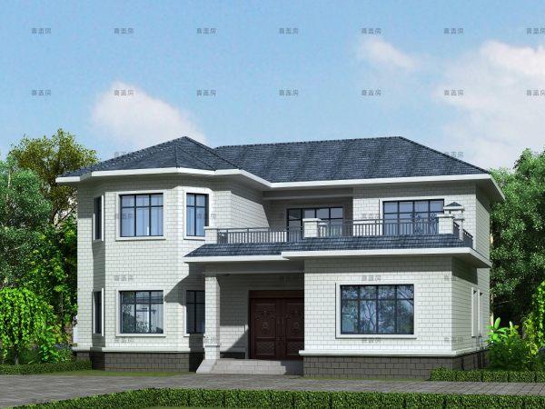 15x13二层别墅设计全套图纸