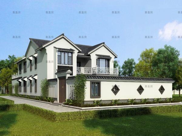 12x33二层别墅设计全套图纸