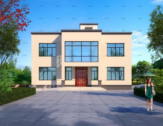 14x12二层别墅设计全套图纸