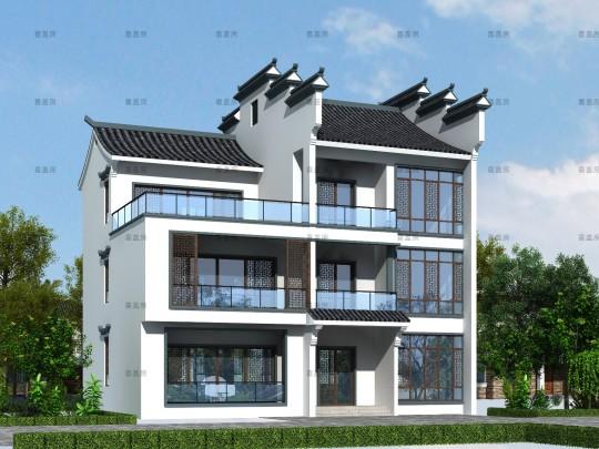 16x12三层别墅设计全套图纸