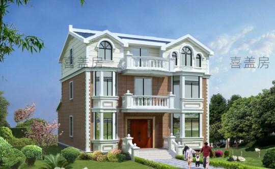 12x11三层别墅设计全套图纸