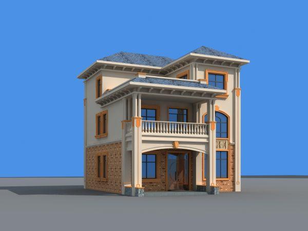10x10二层别墅设计全套图纸
