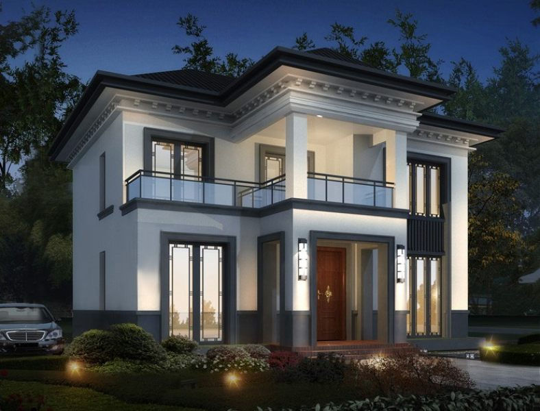 11x12二层别墅设计全套图纸