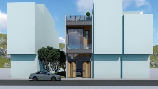 5x16三層別墅設計全套圖紙