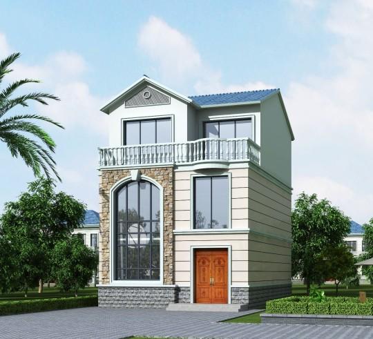8x10三层别墅设计全套图纸