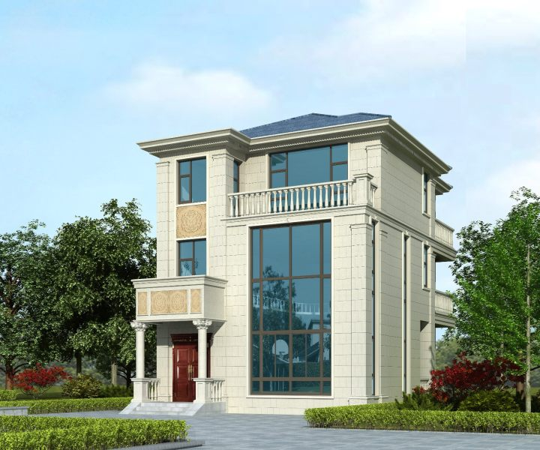 9x12三层别墅设计全套图纸