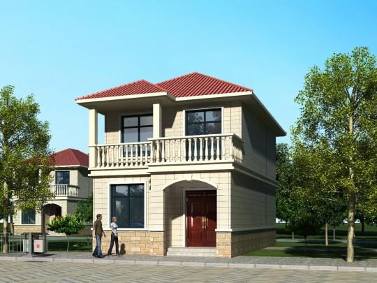 7x13二层别墅设计全套图纸