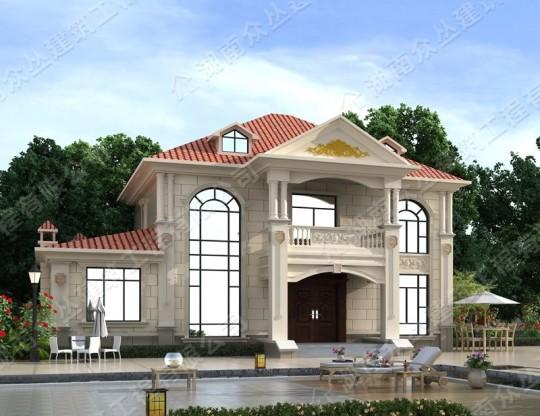 新品40万农村别墅住宅房屋施工占地面积214.13平方