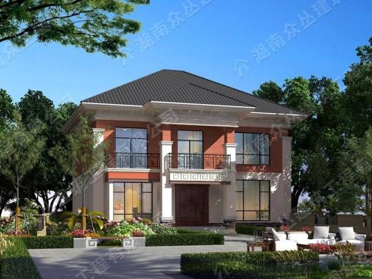 新款农村两层别墅设计图全套施工图