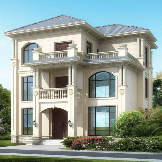 占地12x12三层自建别墅设计全套施工图