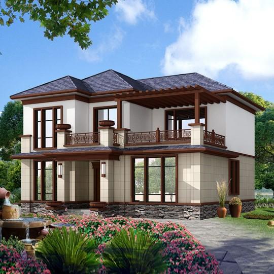 占地12x13三层自建别墅设计全套施工图