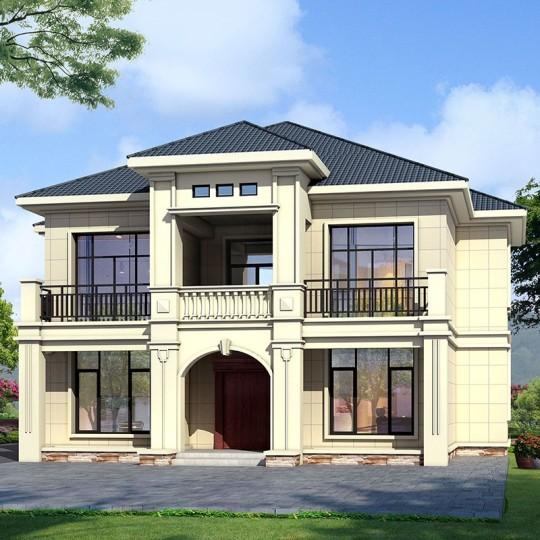 占地14x14二层自建别墅设计全套施工图