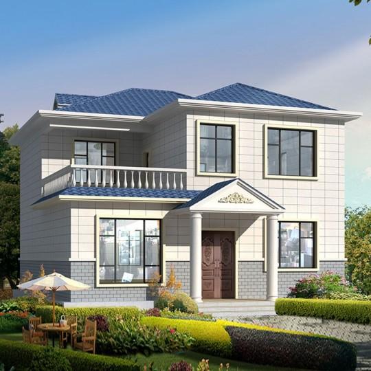 占地14x14三層自建別墅設計全套施工圖