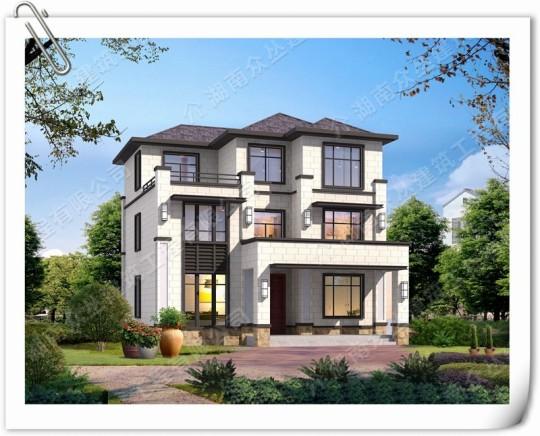 最新爆款新中式别墅设计图受欢迎