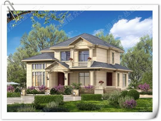 占地11m×11m二层欧式别墅,造价30w即可拎包入住!
